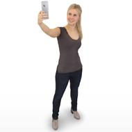 Nina selfie