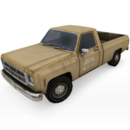 GMC Old Rusty Truck