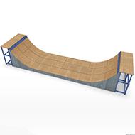 Skate park Long Pipe