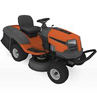 Ridding Lawn mower