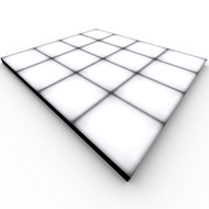 Dance Floor Square with Color LED 10x10