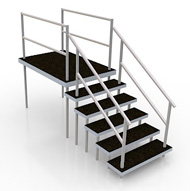 High Stairs 2 parts