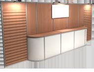 Octanorm backwall 1