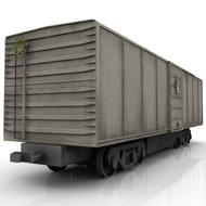 Train Box Car