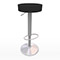 Black & Chrome Swivel Bar Stool