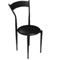 Jet Black Chair (Accent Furnishings)