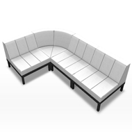 L Couch right 4 pc