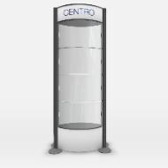 CRSK/62/Black Centro Display POD