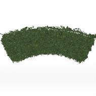 Hedge quarter round