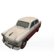 Soviet old car