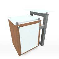 Magma short reception desk