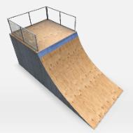 Skate Park Ramp Rest
