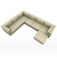 Barbara Barry sectional 875