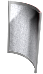 Octanorm Curved Panel 1