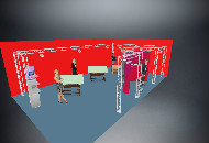 10 x 6 Metres Exhibition stand