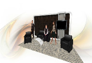 Accent Furniture Tradeshow Booth