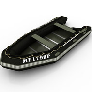 Boat inflated 027