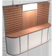 octanorm backwall 10x10