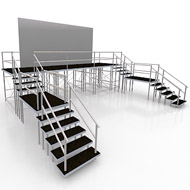 High Stage with stairs