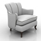 Barbara Barry SCALLOP CHAIR