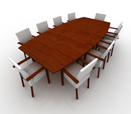 Conference Table W 10 chairs