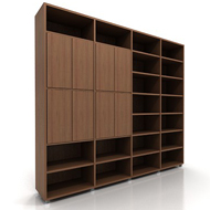 Lecco Bookshelves 2