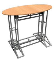 Orbus Oval Truss Counter