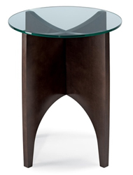 Alight end table