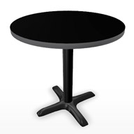 "Black Table 30"" (Accent Furnishings)"