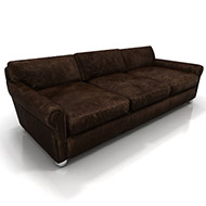 Brown Leather Sofa 29