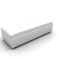 Whisper Bench White