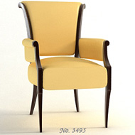 BB LOUNGE CHAIR 3495