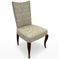 BB TAILORED SIDE CHAIR 3480