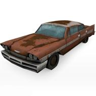 Chrysler Desoto Rusty