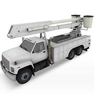 Utility Truck with basket