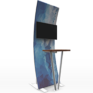 Formulate Tension fabric Kiosk 1