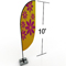 Feather banner display 10ft