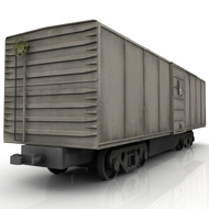 Train Box Car