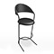 Black Bar Stool (Accent Furnishings)