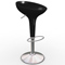 Black Scoop Chair (Accent Furnishings)