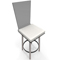 Bar stool chair clear