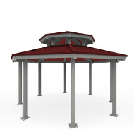 Shelter 20 ft Octaganal Vented