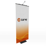 Curve 850 x 2050mm Stand