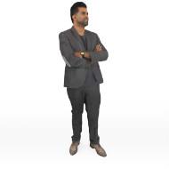 Amir standing