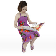Debbie reading