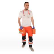 Paramedic shirt off