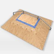 Skate park Ramp