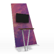 Formulate Tension fabric Kiosk 2