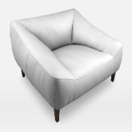 Poliform Carmel armchair