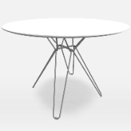 Tio Round Dining Table